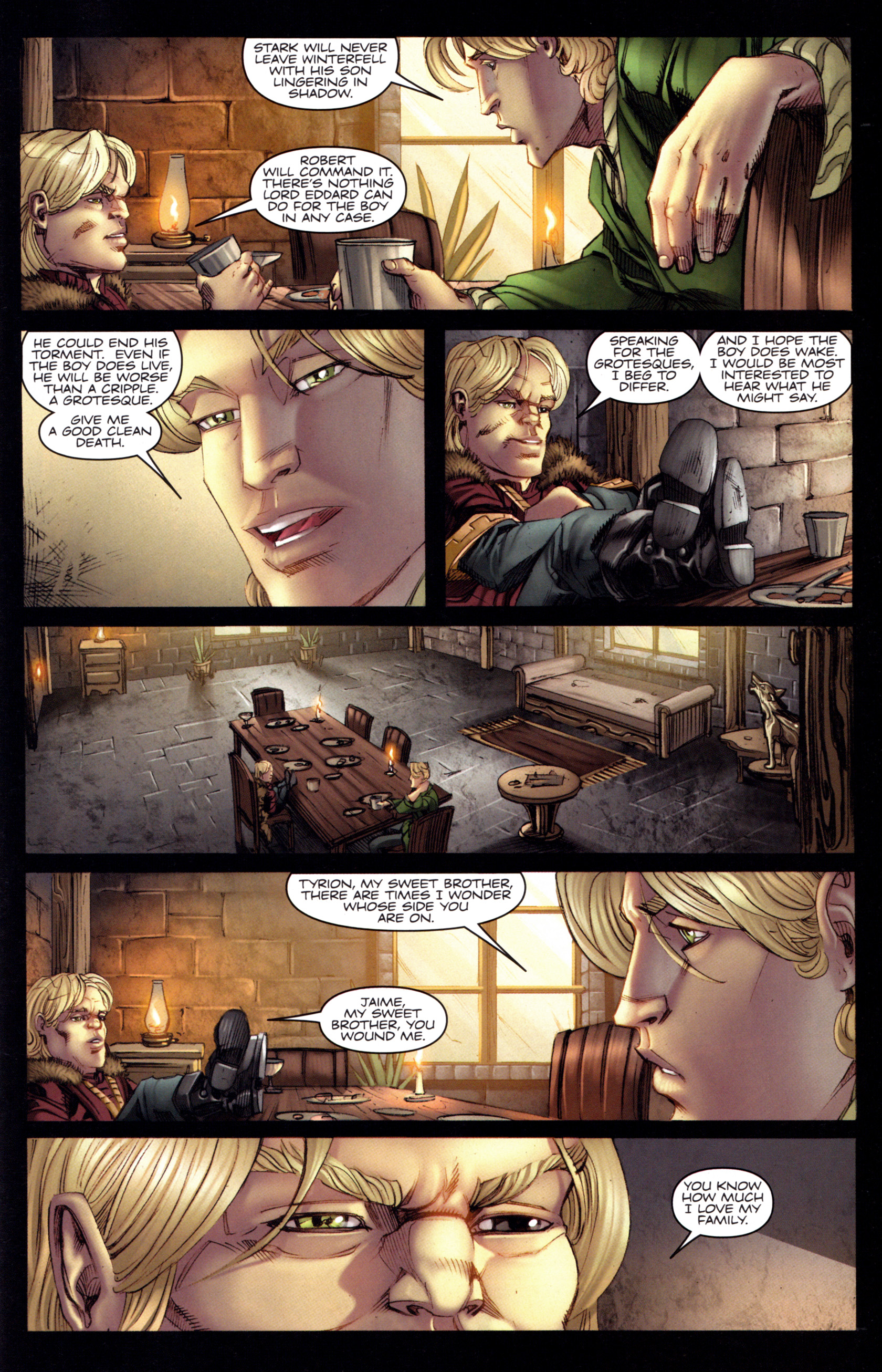 Read online A Game Of Thrones comic -  Issue #3 - 23