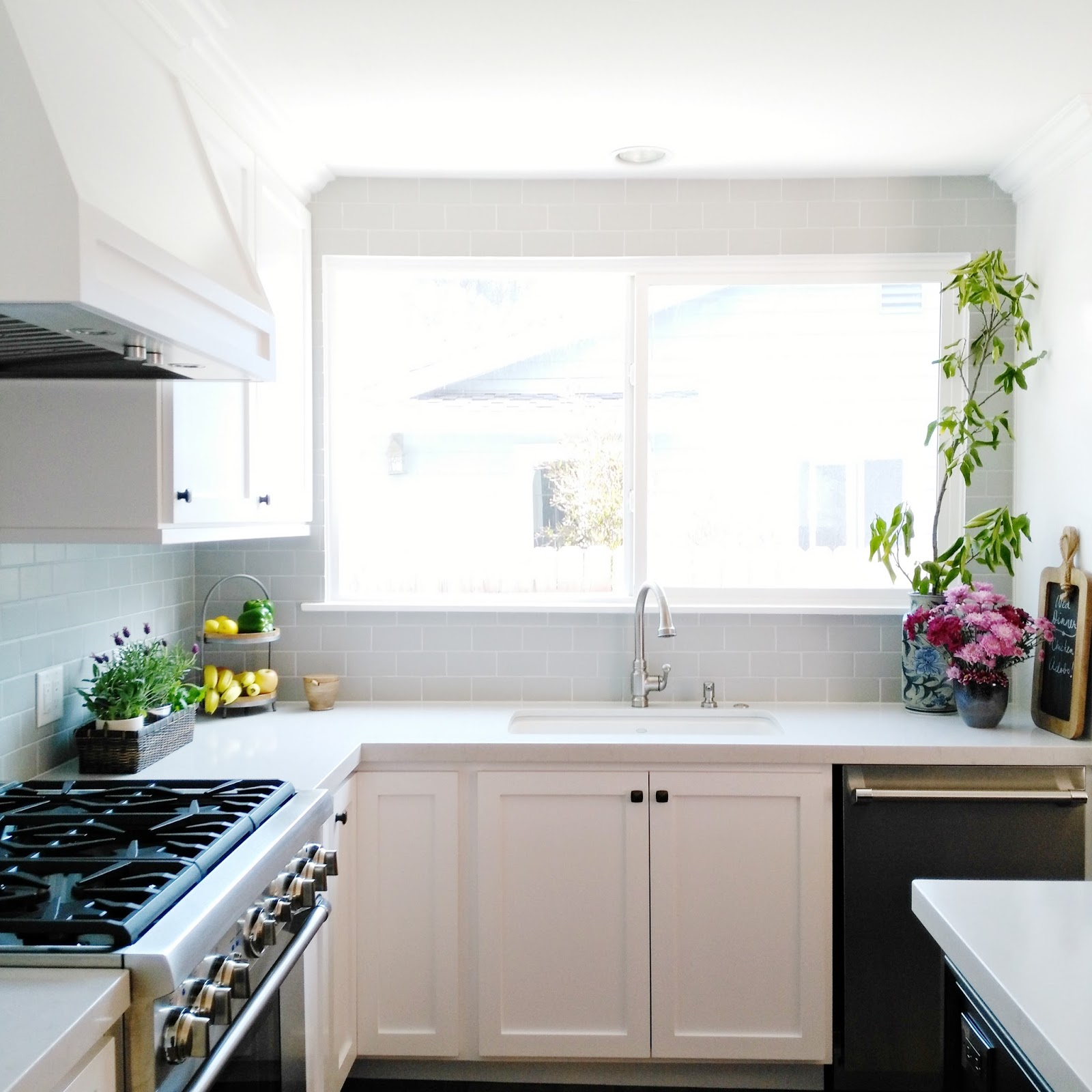 Modern Farmhouse Kitchen Backsplash cad interiors - affordable stylish interiors