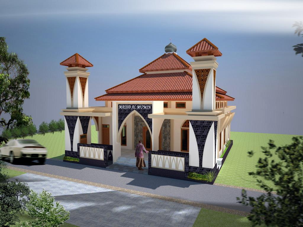 56 Desain Masjid Kecil Koleksi Populer Desain masjid kecil