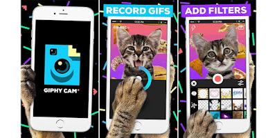 تحميل برنامج GIPHY CAM لعمل الصور المتحركة للاندرويد والايفون - Download GIPHY CAM