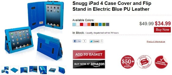 snugg ipad case cover flip stand leather
