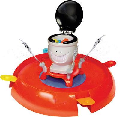 PEPE RETRETE - Juego de Mesa de IMC Toys. detalle juguete