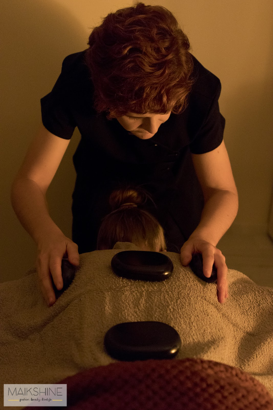 masaje piedras calientes
