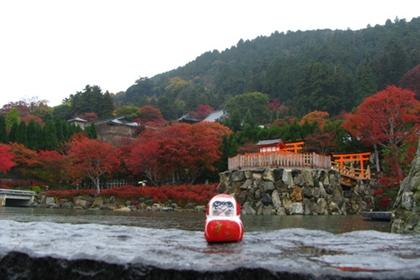 วัดคัตสึโอจิ (Katsuoji Temple) @ www.wikigogo.org