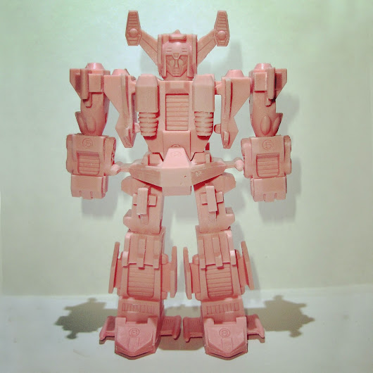Diaclone Gats Blocker Keshi custom