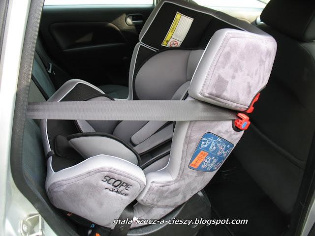 Jak oceniam fotelik samochodowy Caretero Scope Delux?