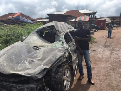 One of the survivors of the Train/motor vehicle crash on Ibadan-Abeokuta road, shares his testimony