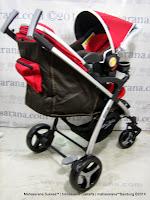 Kereta Bayi LightWeight BabyElle BS-S702TS Cruz T Travel System