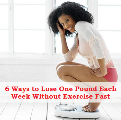 How to Lose One Pound A Week