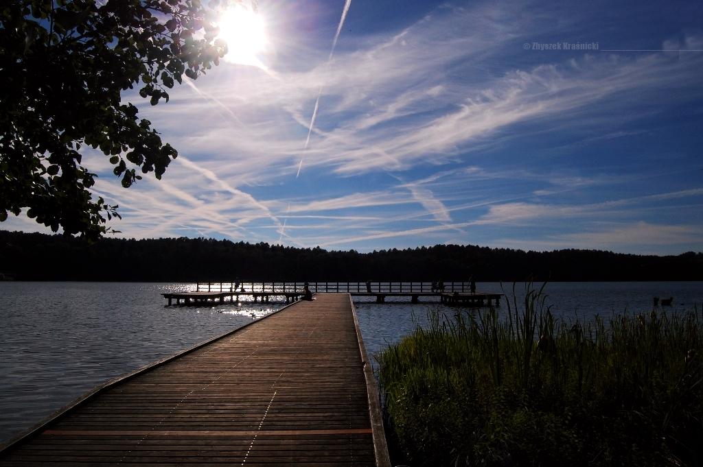 Olsztyńskie jeziora, uniwersytet i osiedle za torami