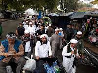 Long March Aksi Belas Islam III Sudah Sampai Cicalengka, Ini Permintaan Mereka