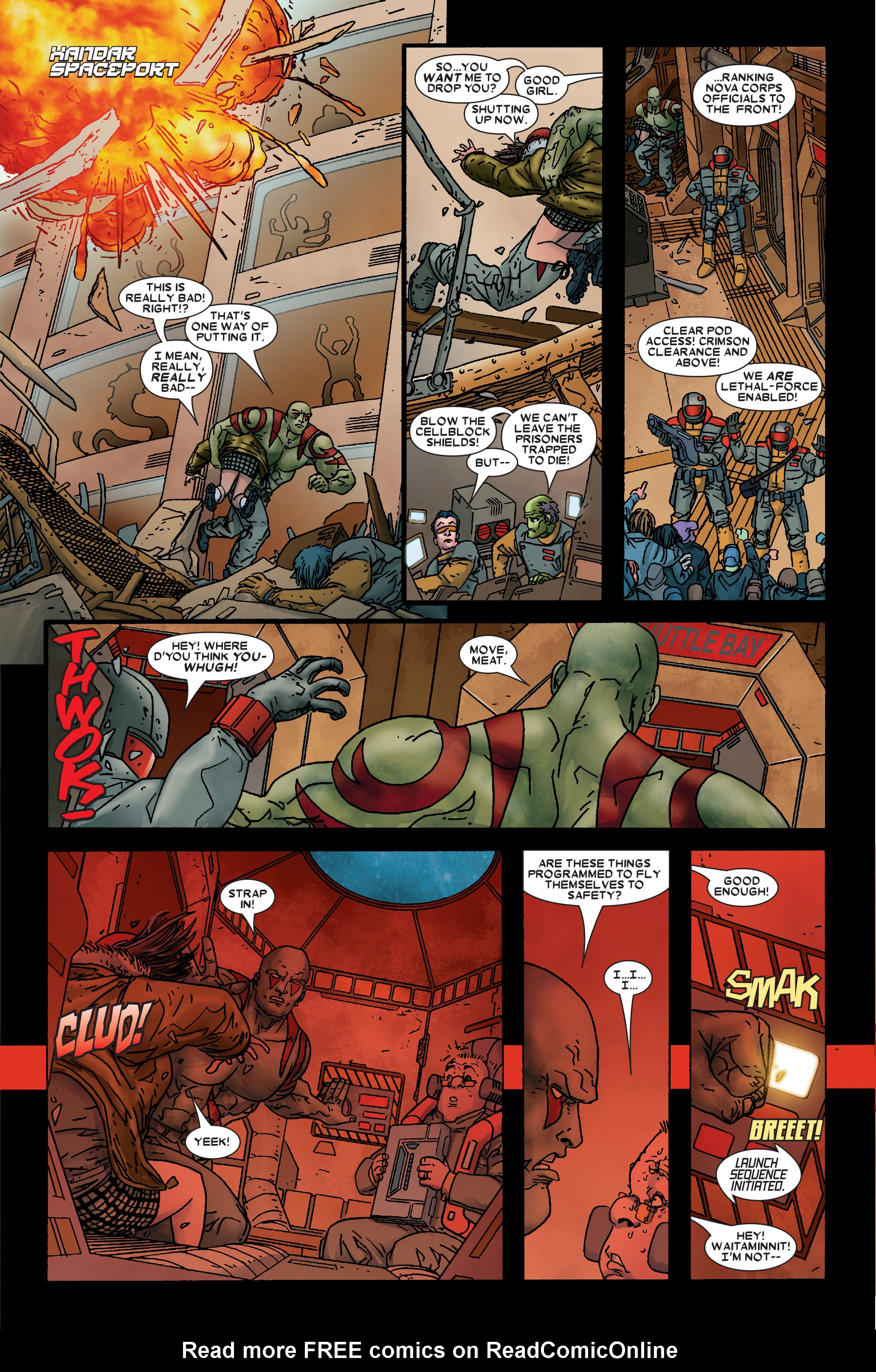 Read online Annihilation: Prologue comic -  Issue #Annihilation: Prologue Full - 20