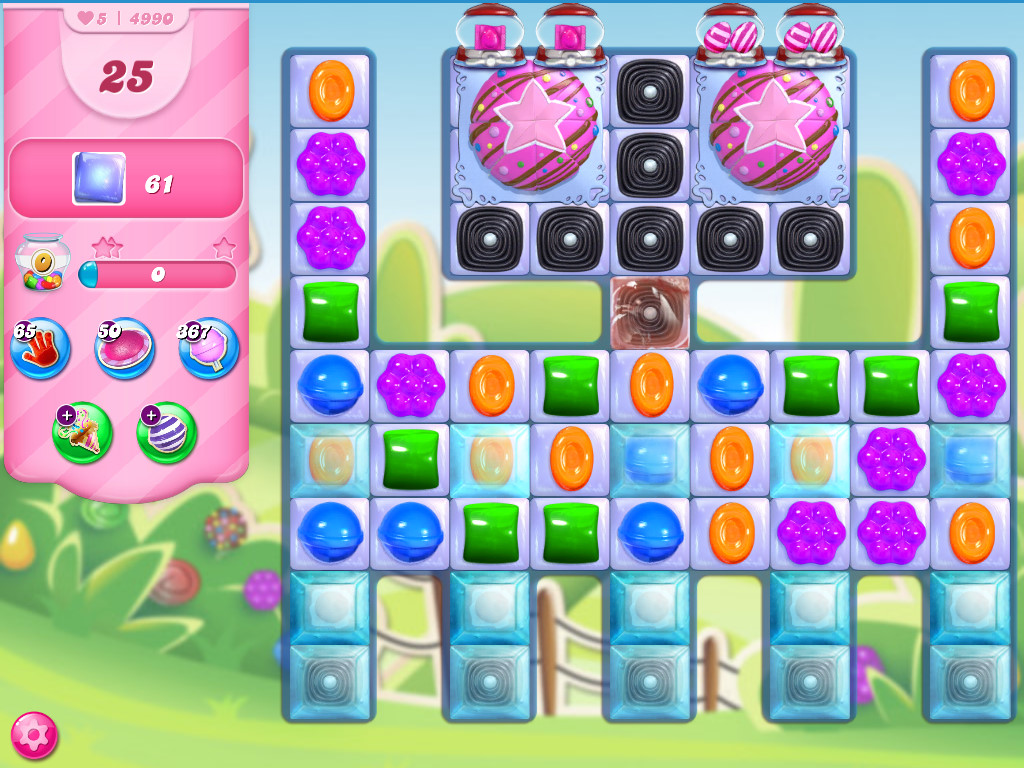Candy Crush Saga level 4990