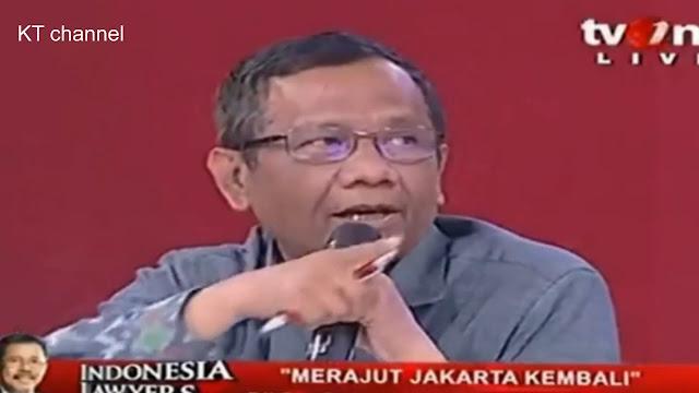 Tak Faham Piagam Jakarta, Eggi Sudjana Di Skak Mahfud MD