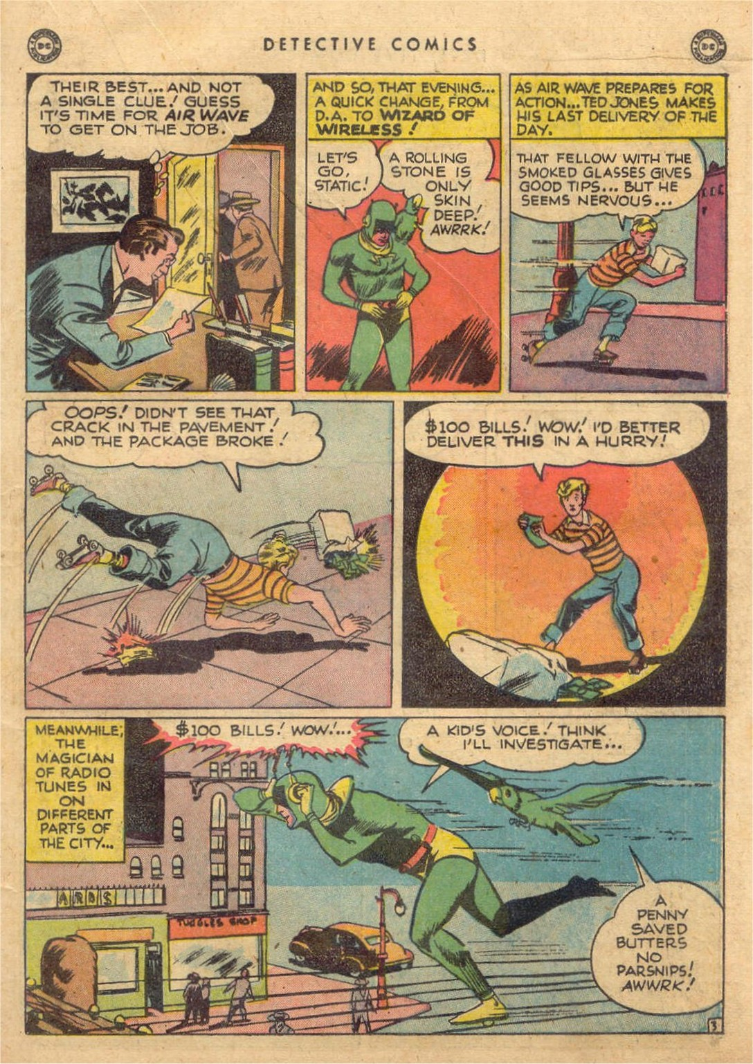 Read online Detective Comics (1937) comic -  Issue #132 - 27