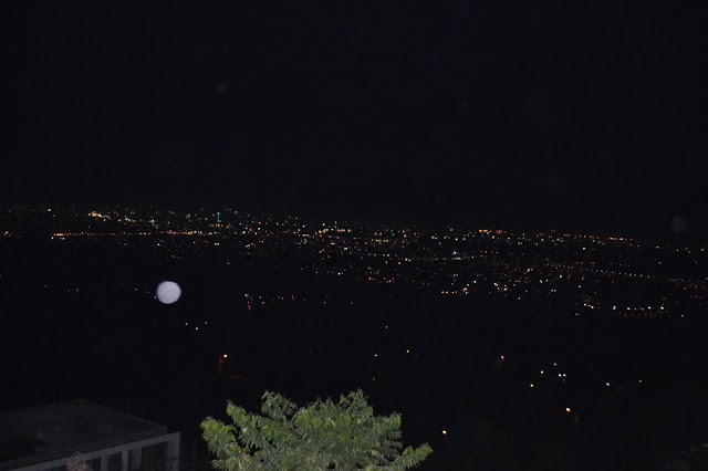 View from Timberland Sports and Nature Club at night