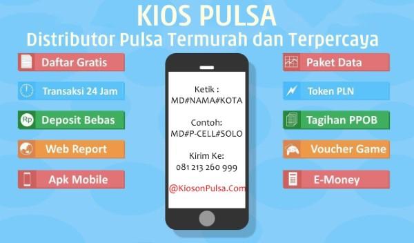KiosonPulsa.Com Web Resmi Server Kios Pulsa Termurah dari Magetan
