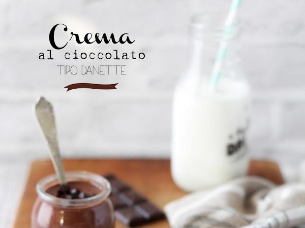 Crema al cioccolato tipo Danette