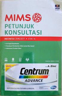 MIMS Petunjuk Konsultasi Indonesia 2016/2017 edisi 16