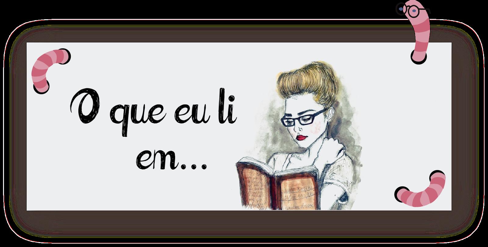 Eu + Livros: O que eu li em... Julho|2015