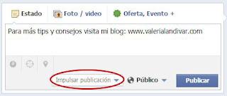 Aumenta la visibilidad de tu página Facebook impulsando tus publicaciones