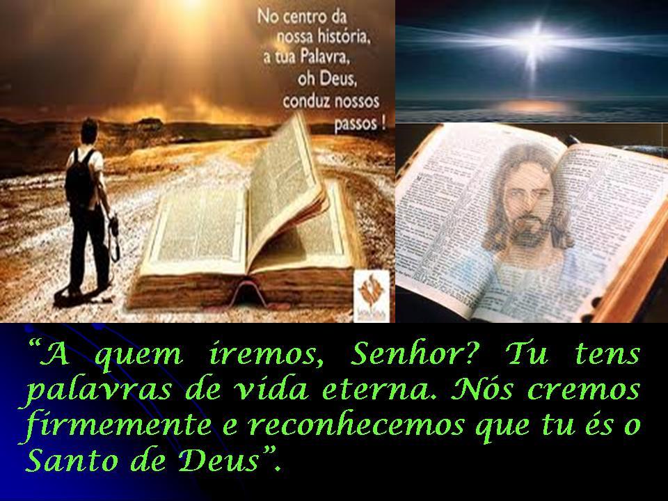 """Resultado de imagem para """"A quem iremos, Senhor? Tu tens palavras de vida eterna"""