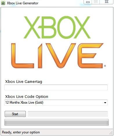 Xbox 360 Live Code Generator July 2013