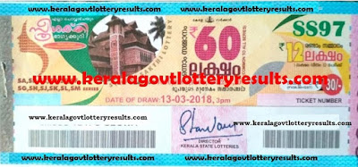 daily kerala lottery results