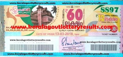 daily kerala lottery results