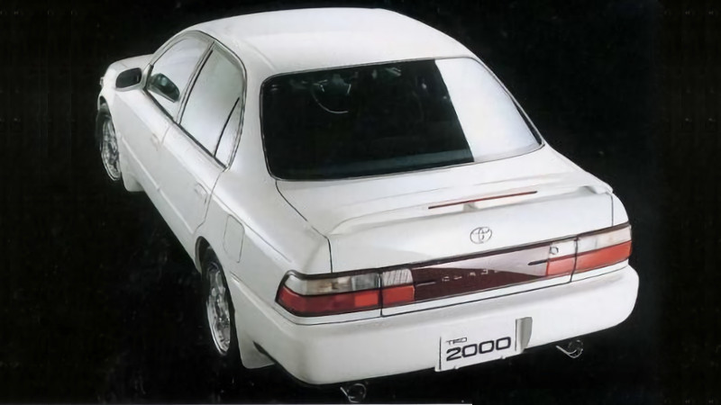 trd 2000 corolla e101 trd sebenarnya mobil motor lama