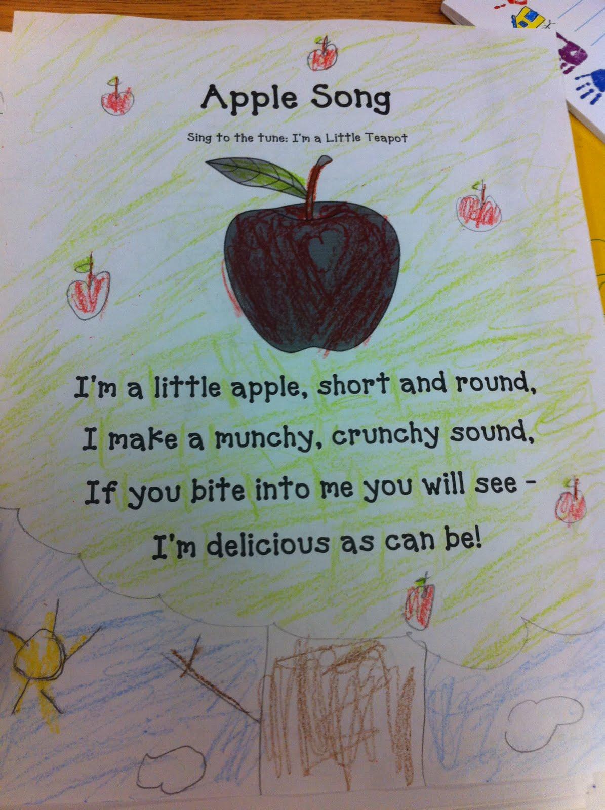 The Adventures Of A K 1 Teacher Apple Unit