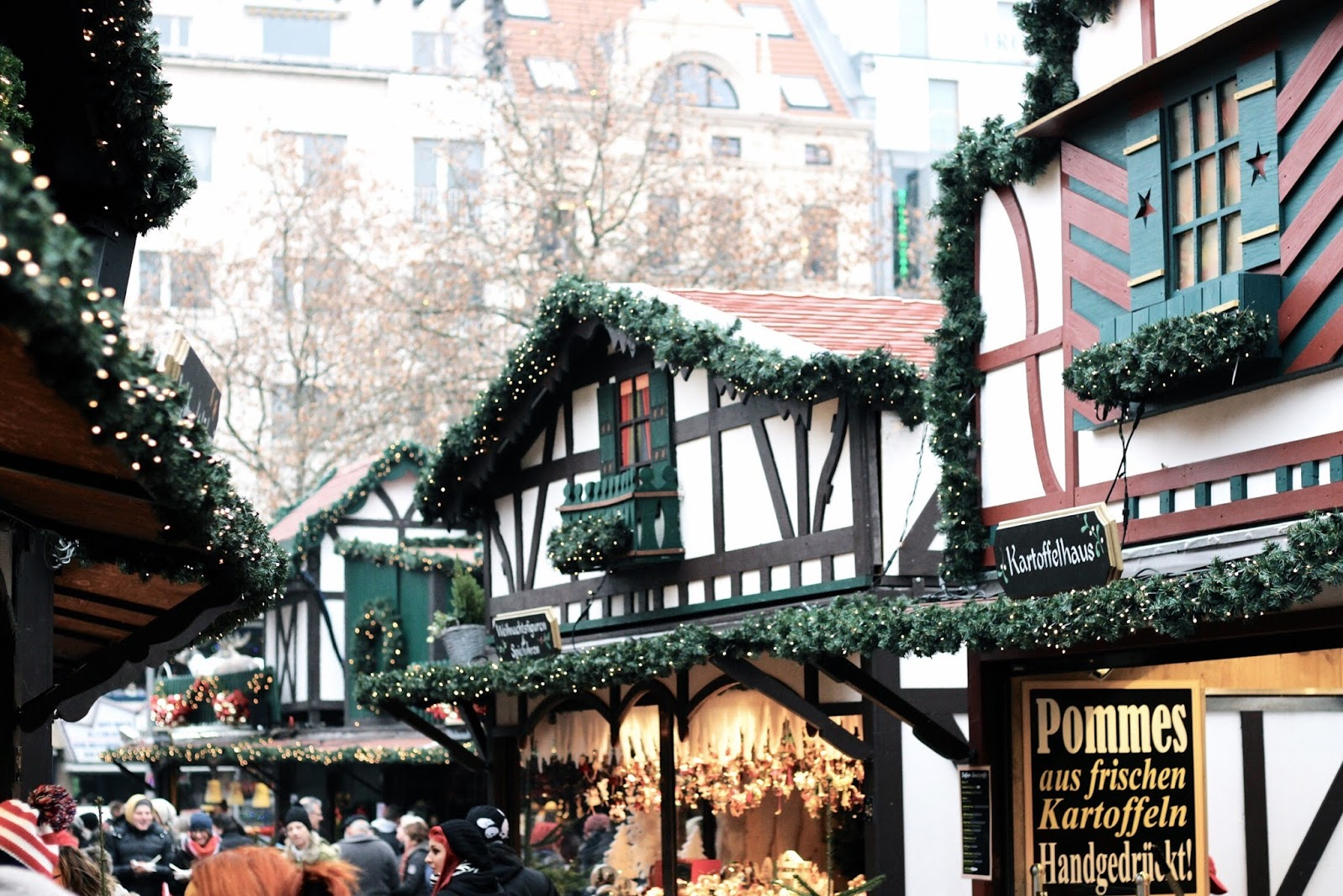 Rudolfplatz Cologne Christmas Market