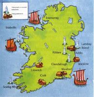 Asentamientos vikingos en Irlanda