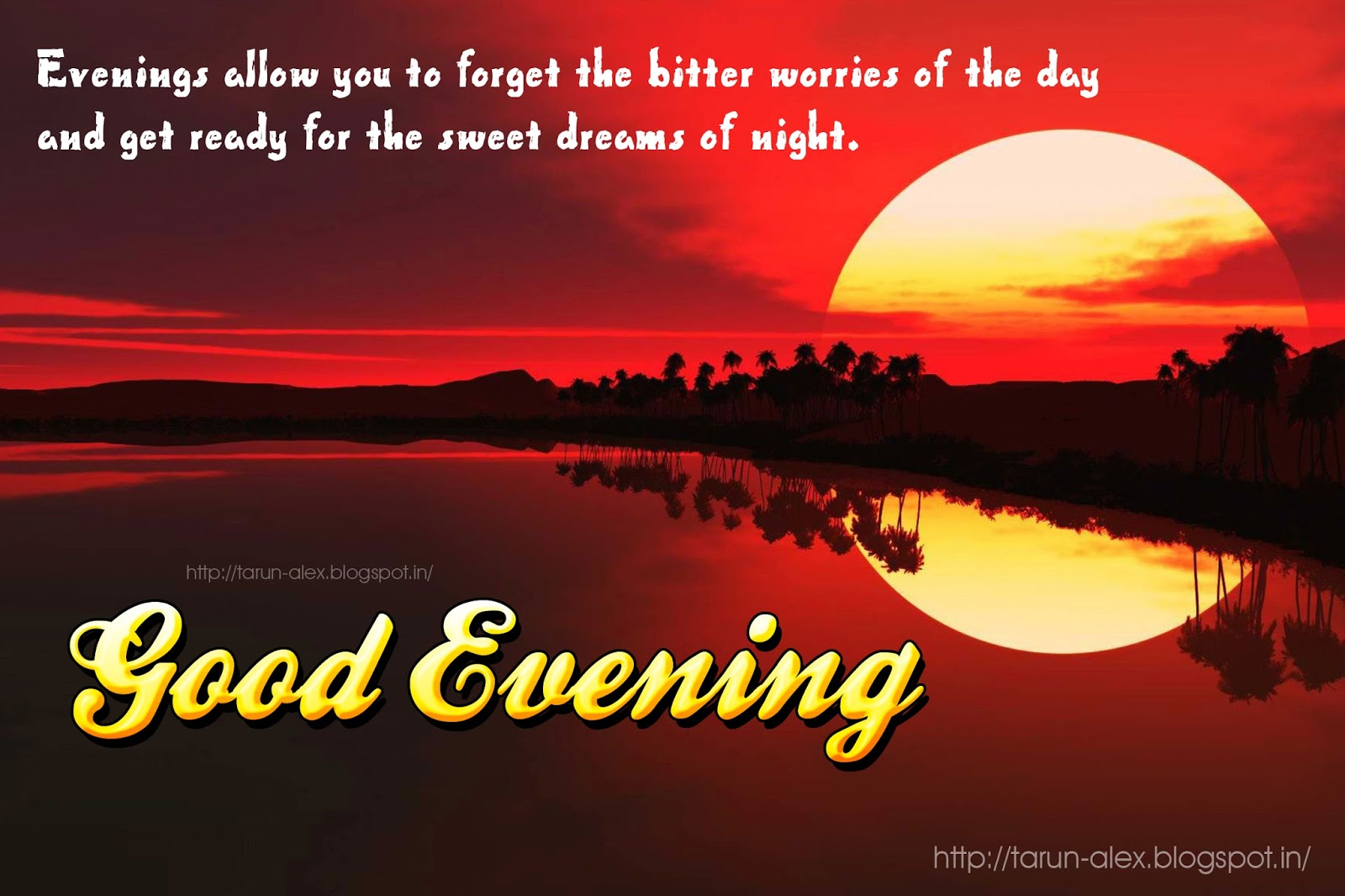 Good Evening Messages And Quotes Free Download New Quotes