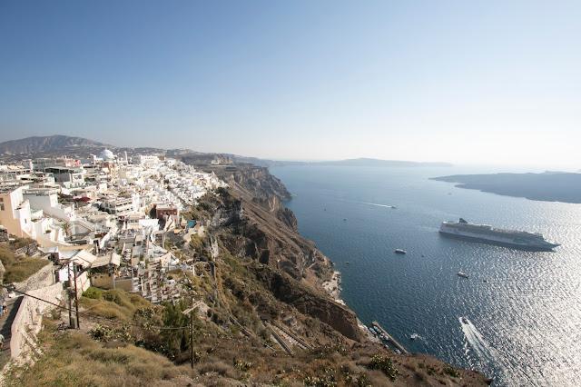 Firostefani-Caldera di Santorini