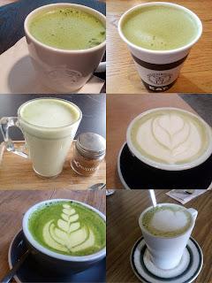 バーミンガムの抹茶ラテ集合写真
