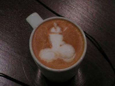 Kaffee Latte Schaum