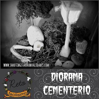 diorama cementerio