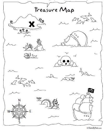 Tutorial para hacer invitaciones de mapa del tesoro. | Ideas y ...