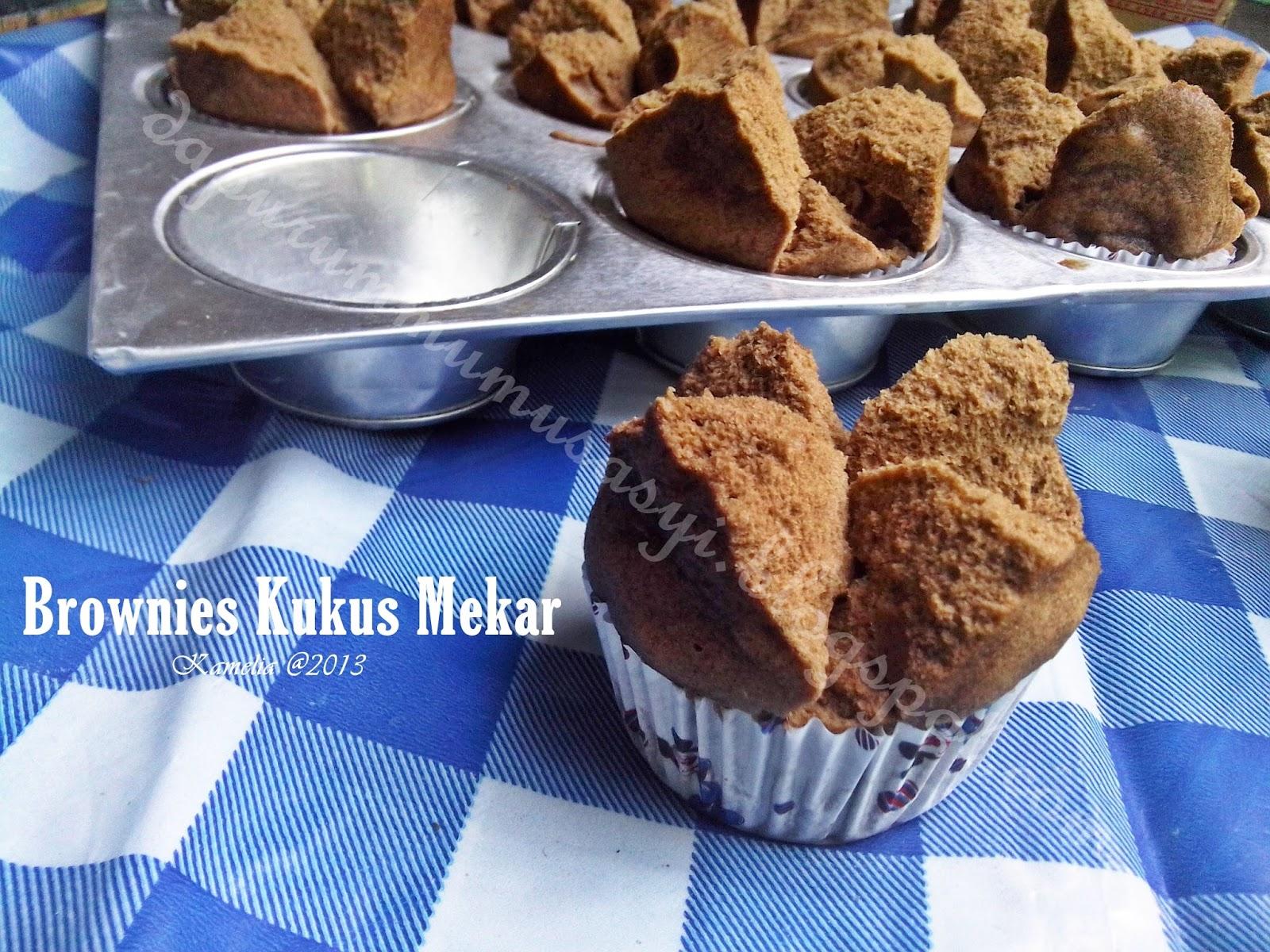 Resep Bolu Jadul Ny Liem: Cozy Kitchen : Brownies Kukus Mekar Ny. Liem