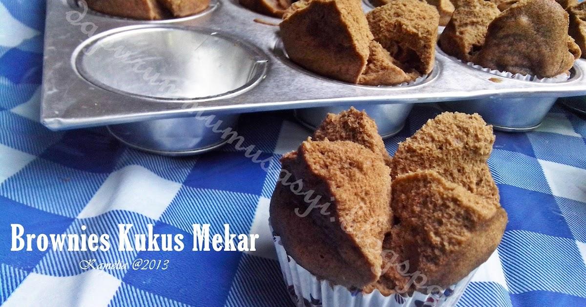 Resep Cake Kukus Hesti Kitchen: Cozy Kitchen : Brownies Kukus Mekar Ny. Liem