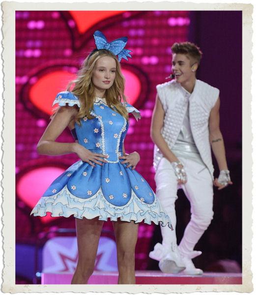 Justin Bieber al Victoria's Secret Fashion Show 2012