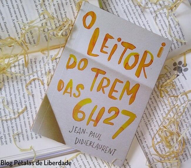 resenha, livro, O-leitor-do-trem-das-6h27, Jean-Paul-Didierlaurent, Intrinseca, capa