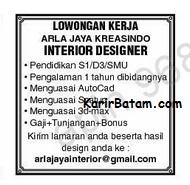 Lowongan Kerja PT. Arla Jaya Kreasindo