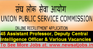 upsc-lecturers-officer-post-Recruitment