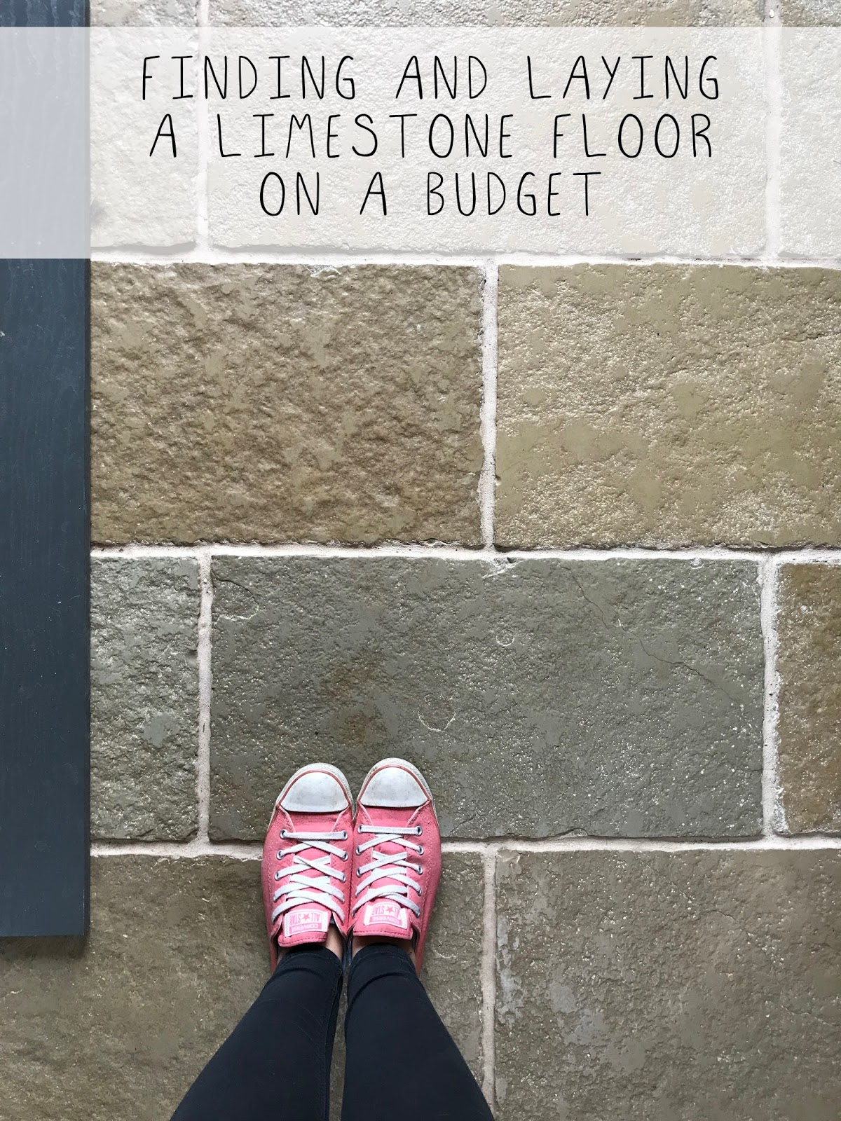Finding And Laying a Limestone Floor on a Budget
