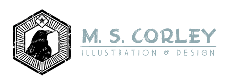 The Art of M. S. Corley: Litographs