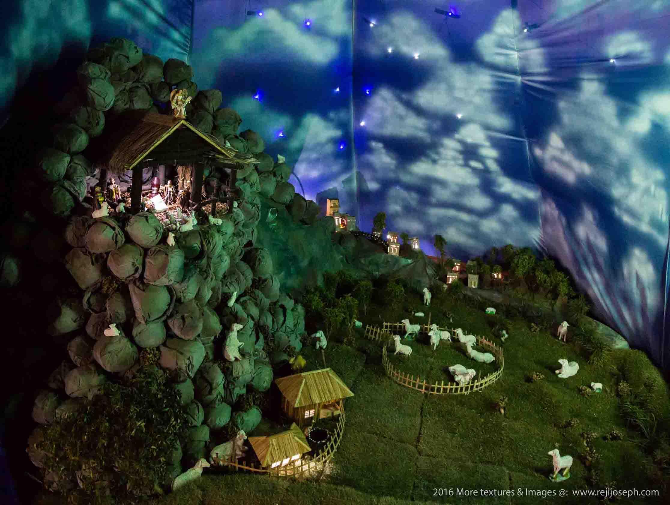Christmas crib Pulkoodu little flower church elamkulam 00002