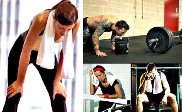Causas que te hacen querer trasbocar durante tu sesión de entrenamiento
