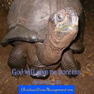 God will give me success. (Nehemiah 2:20)